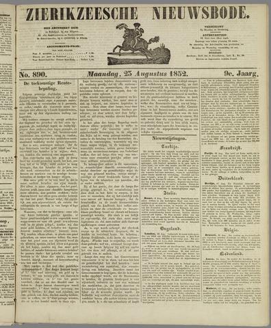 Zierikzeesche Nieuwsbode 1852-08-23