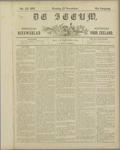 De Zeeuw. Christelijk-historisch nieuwsblad voor Zeeland 1901-11-12