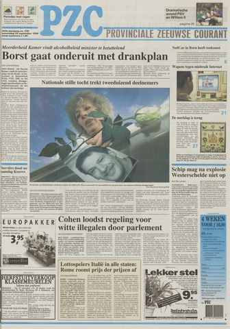 Provinciale Zeeuwse Courant 1999-09-29