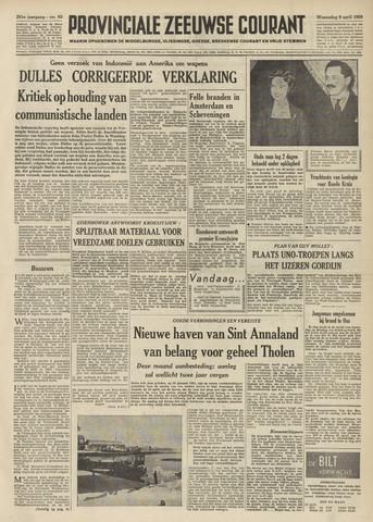 Provinciale Zeeuwse Courant 1958-04-09