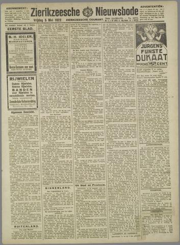 Zierikzeesche Nieuwsbode 1922-05-05