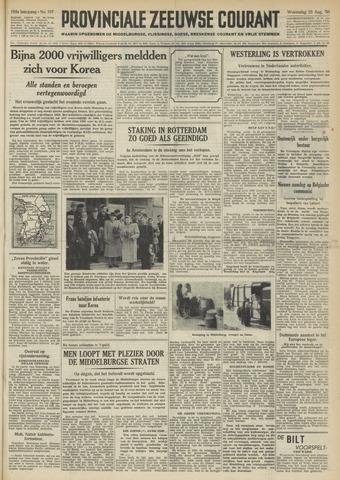 Provinciale Zeeuwse Courant 1950-08-23