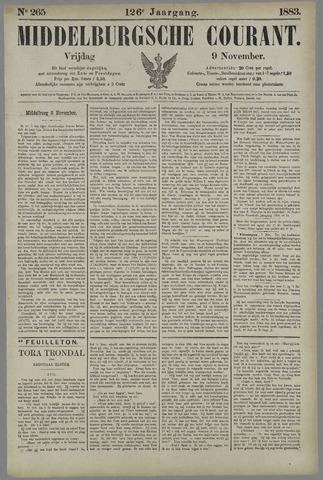 Middelburgsche Courant 1883-11-09