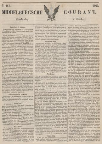 Middelburgsche Courant 1869-10-07