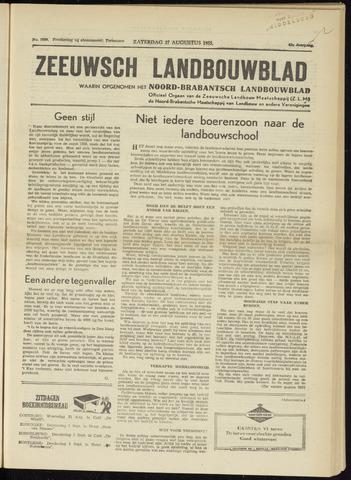 Zeeuwsch landbouwblad ... ZLM land- en tuinbouwblad 1955-08-27