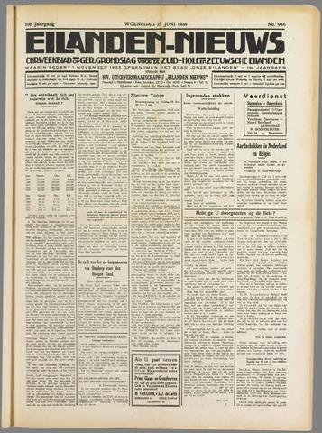 Eilanden-nieuws. Christelijk streekblad op gereformeerde grondslag 1938-06-15