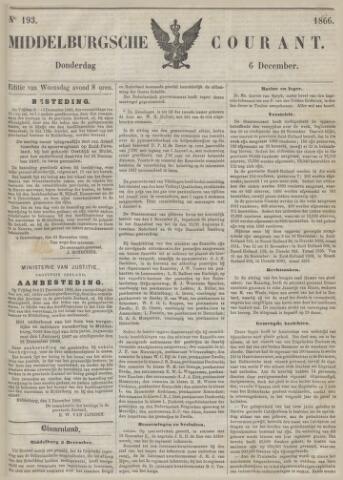 Middelburgsche Courant 1866-12-06