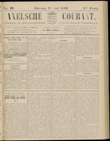 Axelsche Courant 1906-07-14