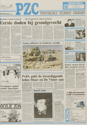 Provinciale Zeeuwse Courant 1991-01-31