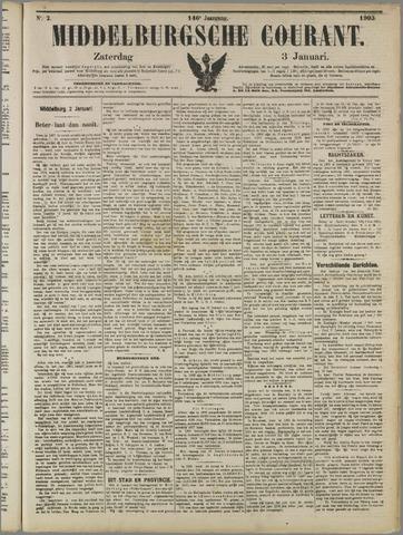 Middelburgsche Courant 1903-01-03