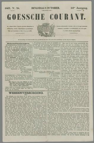 Goessche Courant 1867-10-08