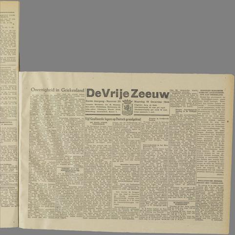 de Vrije Zeeuw 1944-12-18