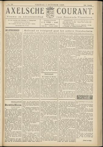 Axelsche Courant 1938-10-07