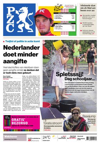 Provinciale Zeeuwse Courant 2016-07-21