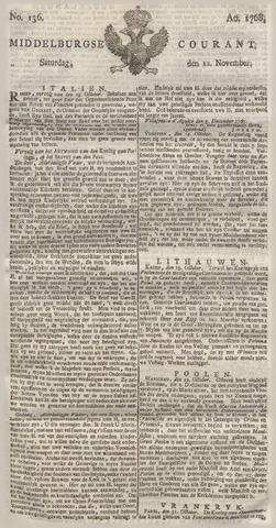 Middelburgsche Courant 1768-11-12