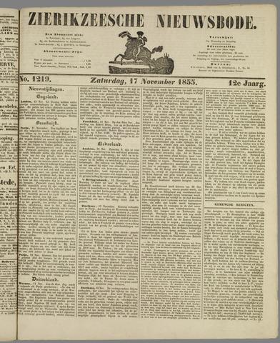 Zierikzeesche Nieuwsbode 1855-11-17