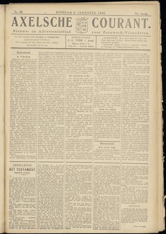 Axelsche Courant 1935-08-06