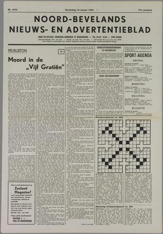 Noord-Bevelands Nieuws- en advertentieblad 1984-01-19