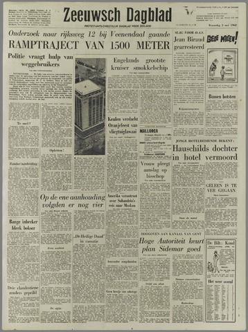 Zeeuwsch Dagblad 1962-05-02