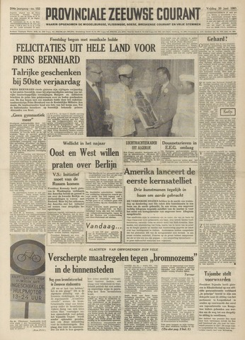 Provinciale Zeeuwse Courant 1961-06-30