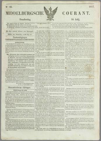 Middelburgsche Courant 1857-07-16