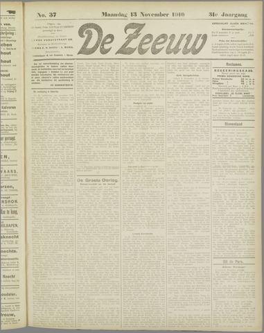 De Zeeuw. Christelijk-historisch nieuwsblad voor Zeeland 1916-11-13