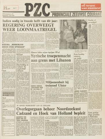 Provinciale Zeeuwse Courant 1976-04-01