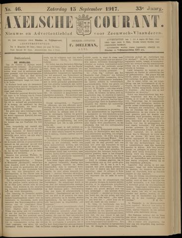 Axelsche Courant 1917-09-15