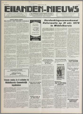Eilanden-nieuws. Christelijk streekblad op gereformeerde grondslag 1979-10-26