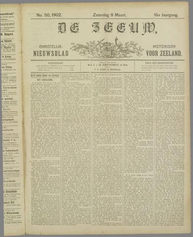 De Zeeuw. Christelijk-historisch nieuwsblad voor Zeeland 1902-03-08