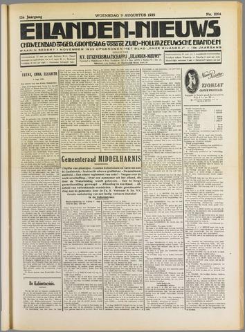 Eilanden-nieuws. Christelijk streekblad op gereformeerde grondslag 1939-08-09