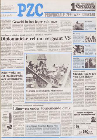 Provinciale Zeeuwse Courant 1990-04-02