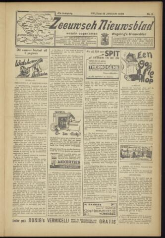 Zeeuwsch Nieuwsblad/Wegeling's Nieuwsblad 1935-01-18