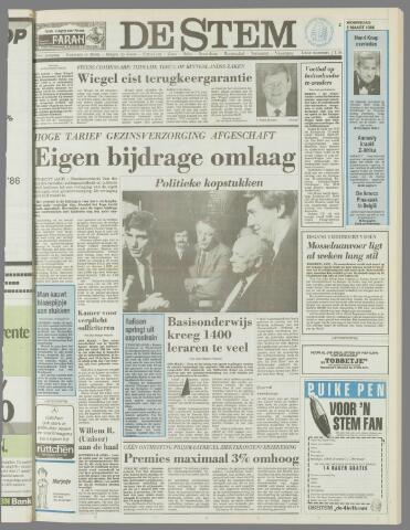 de Stem 1986-03-05