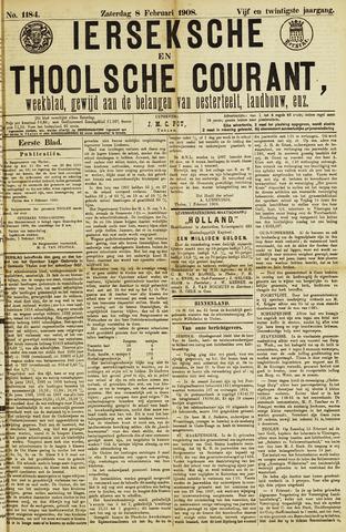 Ierseksche en Thoolsche Courant 1908-02-08