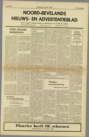 Noord-Bevelands Nieuws- en advertentieblad 1959-01-14