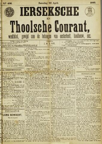 Ierseksche en Thoolsche Courant 1893-04-22
