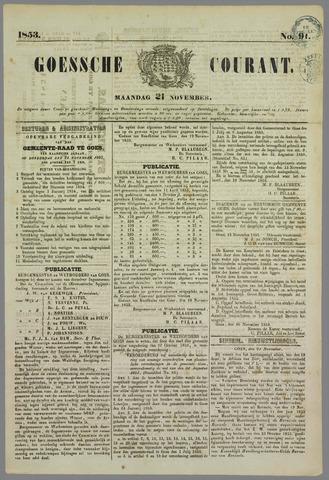 Goessche Courant 1853-11-21
