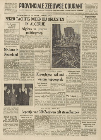 Provinciale Zeeuwse Courant 1961-07-06