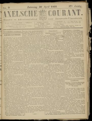 Axelsche Courant 1921-04-30