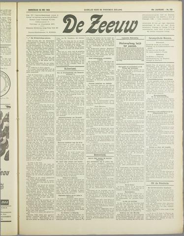 De Zeeuw. Christelijk-historisch nieuwsblad voor Zeeland 1934-05-24