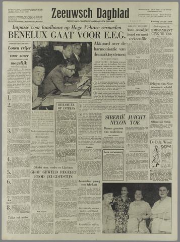 Zeeuwsch Dagblad 1959-07-29
