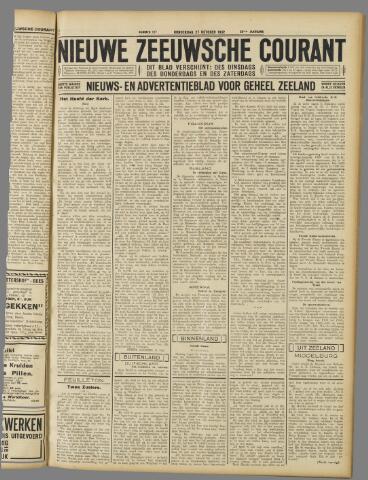 Nieuwe Zeeuwsche Courant 1932-10-27