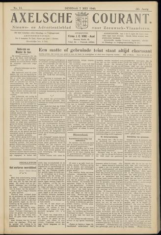 Axelsche Courant 1940-05-07