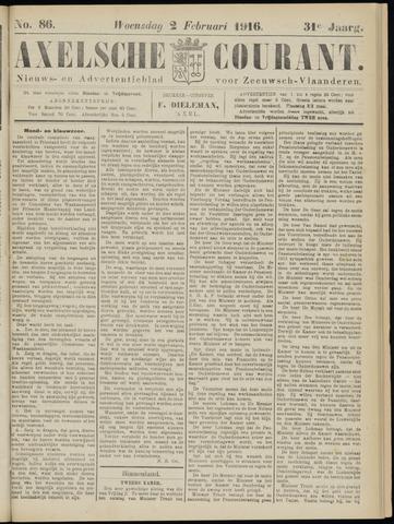 Axelsche Courant 1916-02-02
