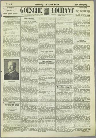 Goessche Courant 1932-04-11