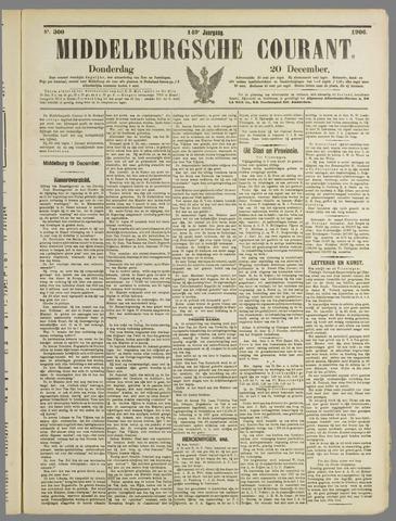 Middelburgsche Courant 1906-12-20
