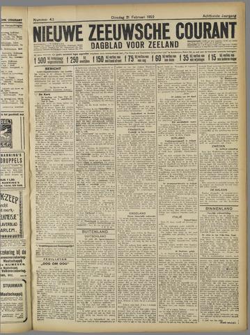 Nieuwe Zeeuwsche Courant 1922-02-21