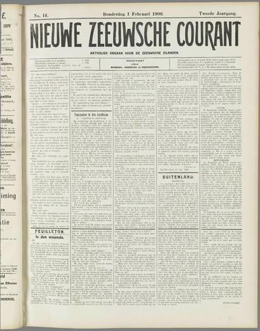 Nieuwe Zeeuwsche Courant 1906-02-01