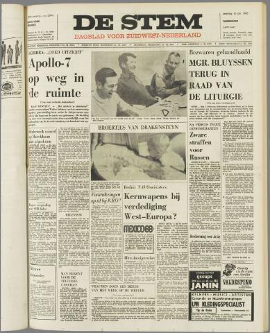 de Stem 1968-10-12